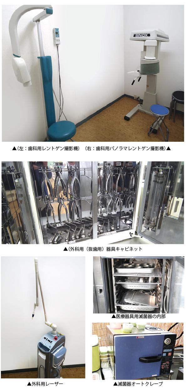 歯科用具・機器の紹介3